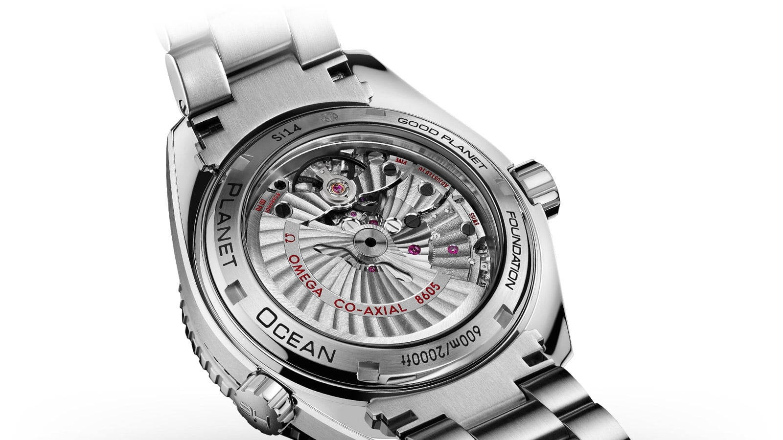 The OMEGA Co-Axial calibre 8605