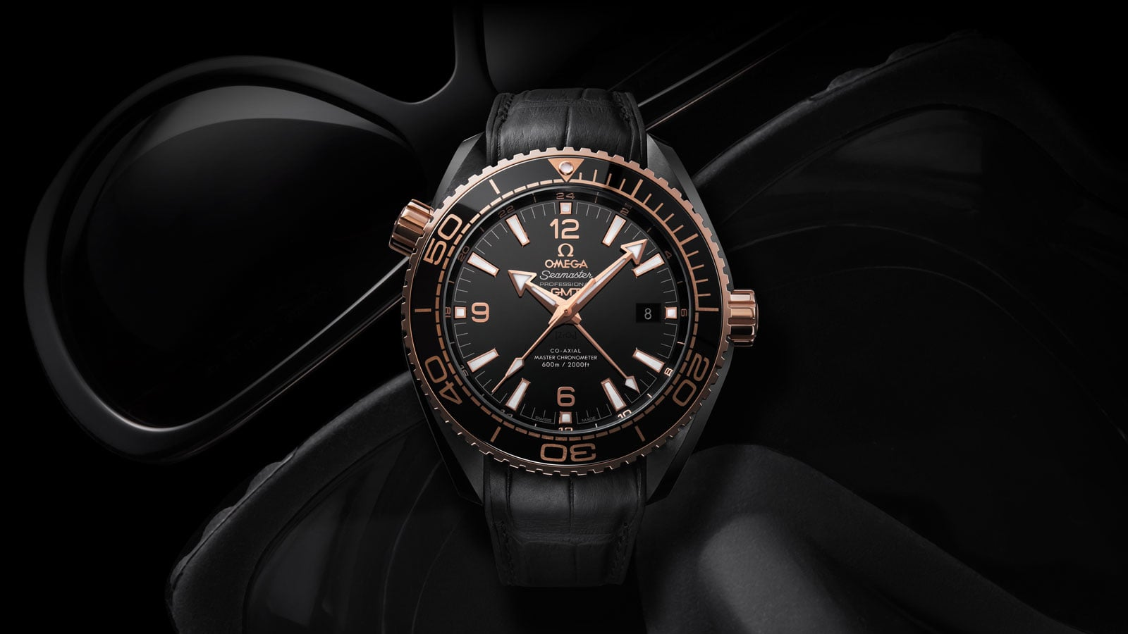 Seamaster Planet Ocean 600 M Planet Ocean Deep Black - Folie 1 - 39983
