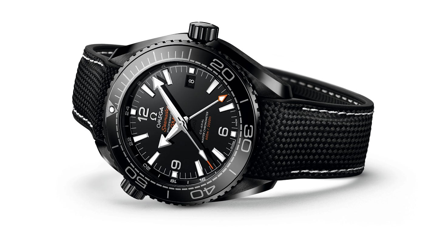 "DIE SEAMASTER PLANET OCEAN ""DEEP BLACK""-KOLLEKTION"