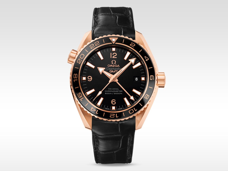 THE SEAMASTER PLANET OCEAN 600M CERAGOLD™ GMT