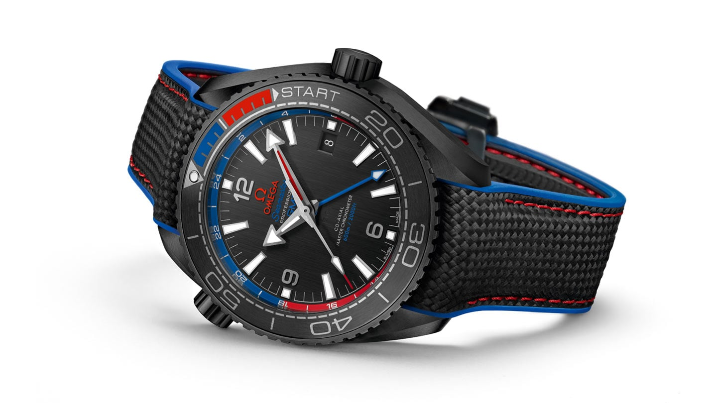 "SEAMASTER PLANET OCEAN ETNZ ""DEEP BLACK"""