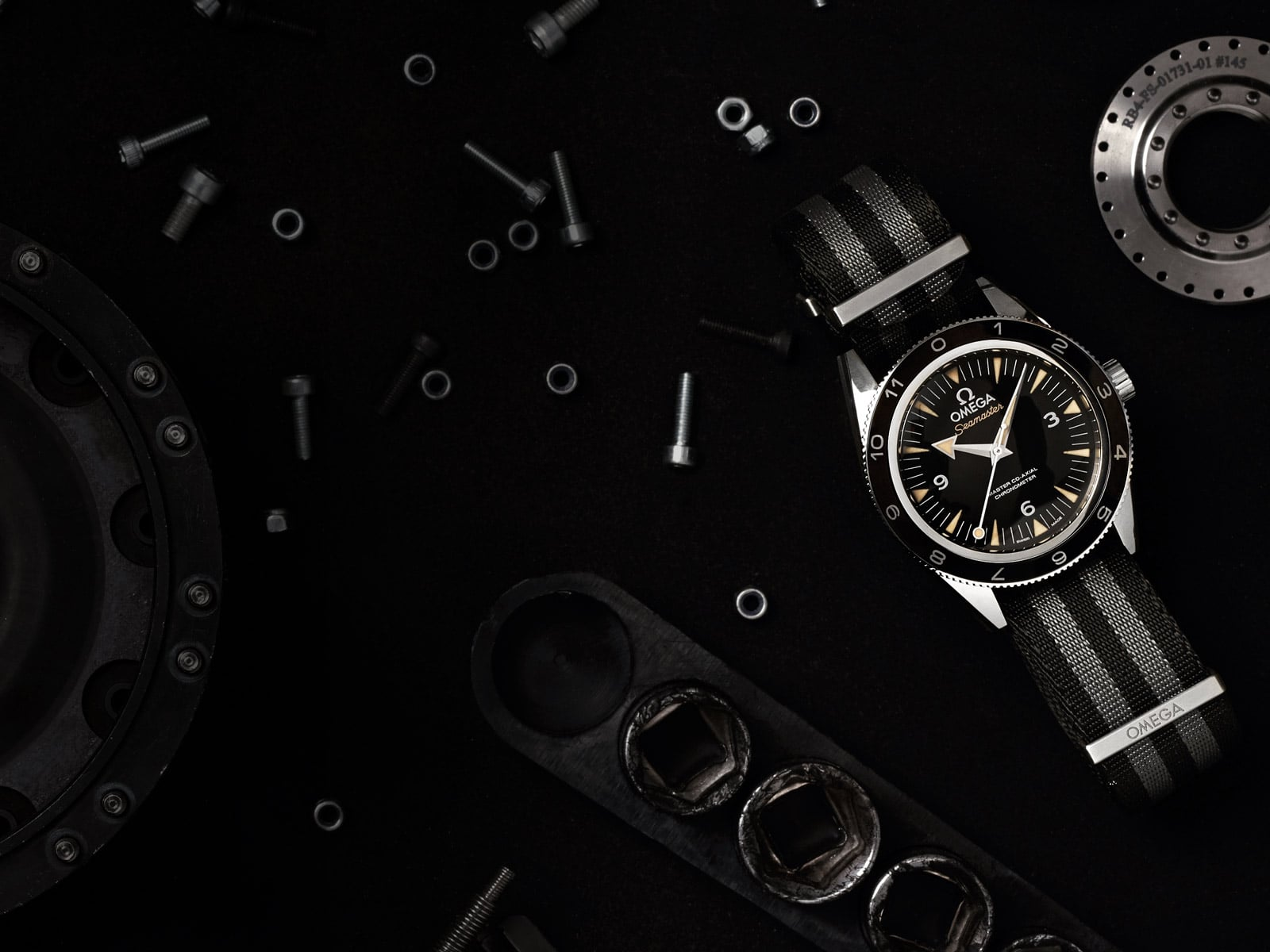 "THE SEAMASTER 300 ""SPECTRE"" LIMITED EDITION"
