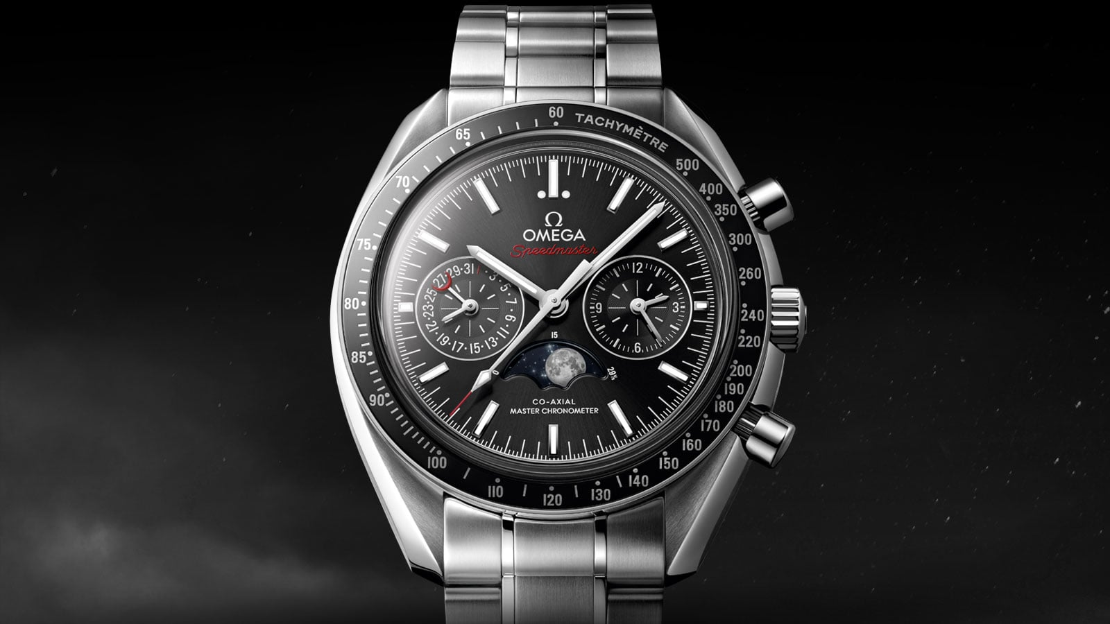 Speedmaster Moonwatch Moonphase - Slide 1 - 3084