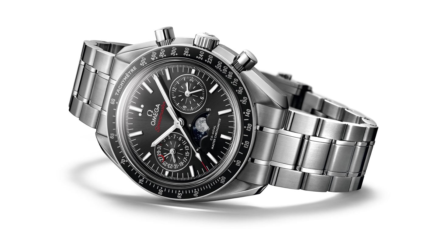 THE SPEEDMASTER MOONPHASE CO-AXIAL MASTER CHRONOMETER CHRONOGRAPH