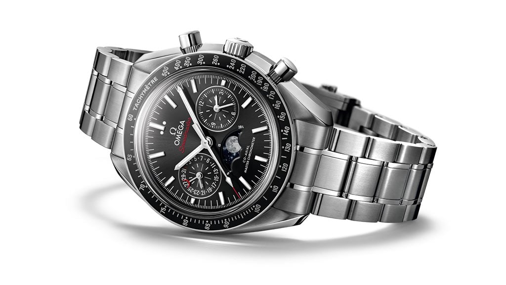 O SPEEDMASTER MOONPHASE CO-AXIAL MASTER CHRONOMETER CHRONOGRAPH