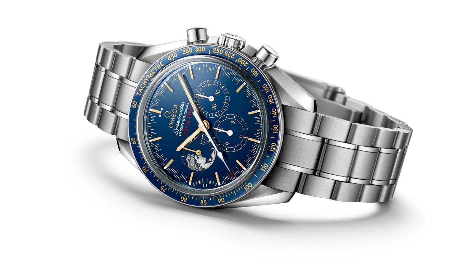 AS EDIÇÕES LIMITADAS DO SPEEDMASTER APOLLO 17 45TH ANNIVERSARY