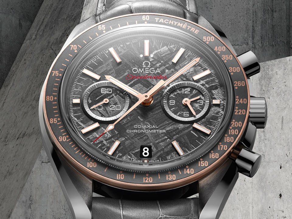 SPEEDMASTER GREY SIDE OF THE MOON « MÉTÉORITE »