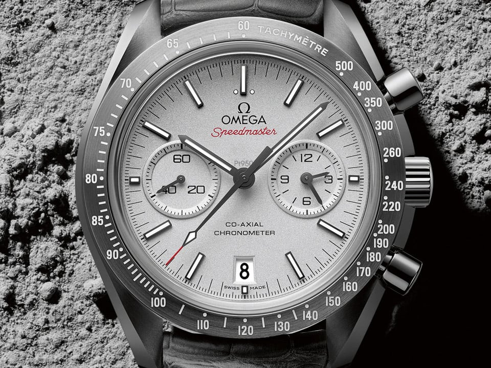 SPEEDMASTER « GREY SIDE OF THE MOON »