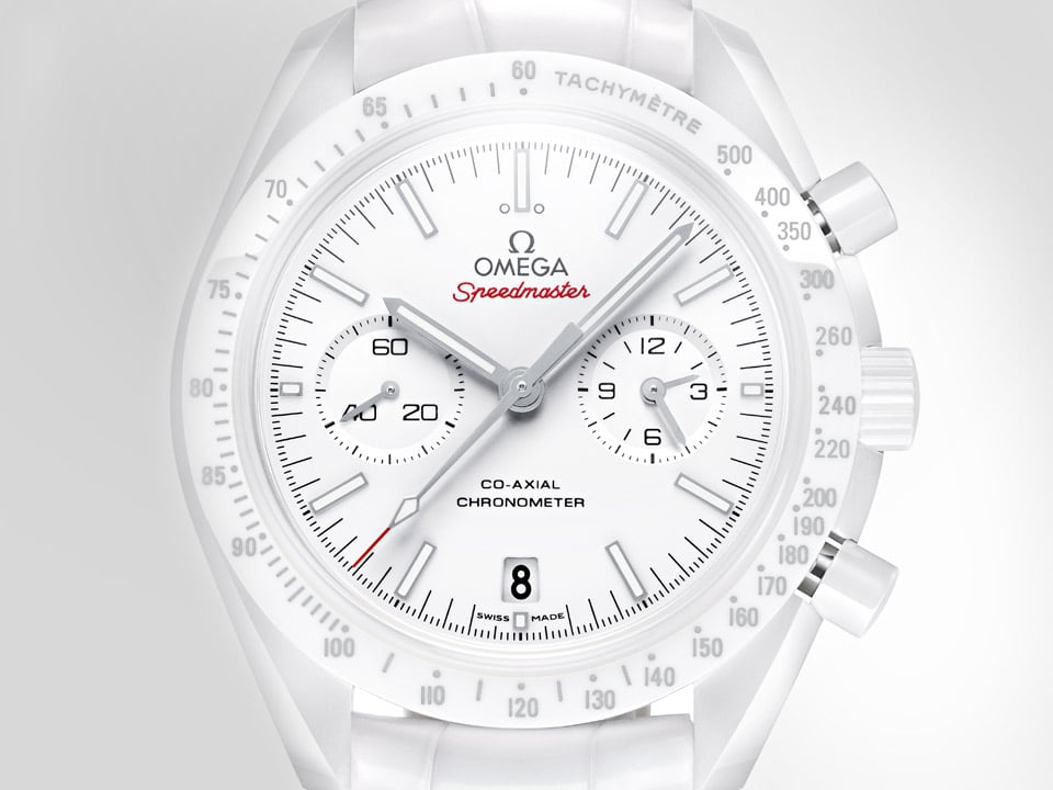 LA SPEEDMASTER « WHITE SIDE OF THE MOON »