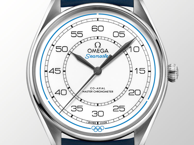 Omega Seamaster Olympic Games Timekeeper Stainless Steel with white dial