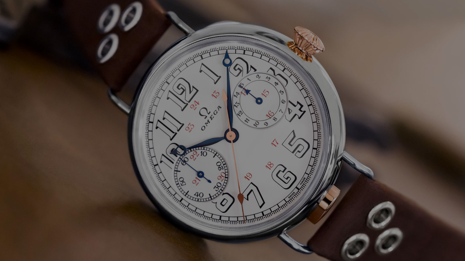 Besondere Modelle First OMEGA Wrist-Chronograph Kollektion - Video - 53961