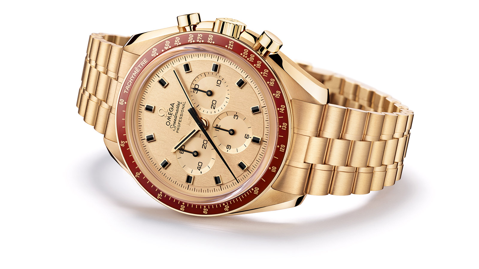 Speedmaster Apollo 11 50<sup>th</sup> Anniversary Moonshine™ Gold Edição Limitada