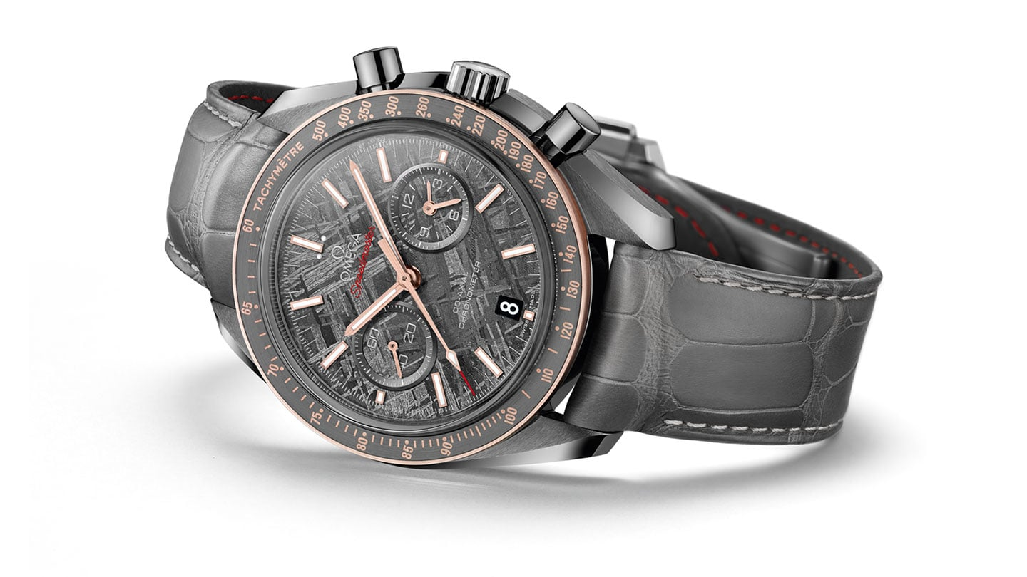 "ЧАСЫ SPEEDMASTER GREY SIDE OF THE MOON ""METEORITE"""