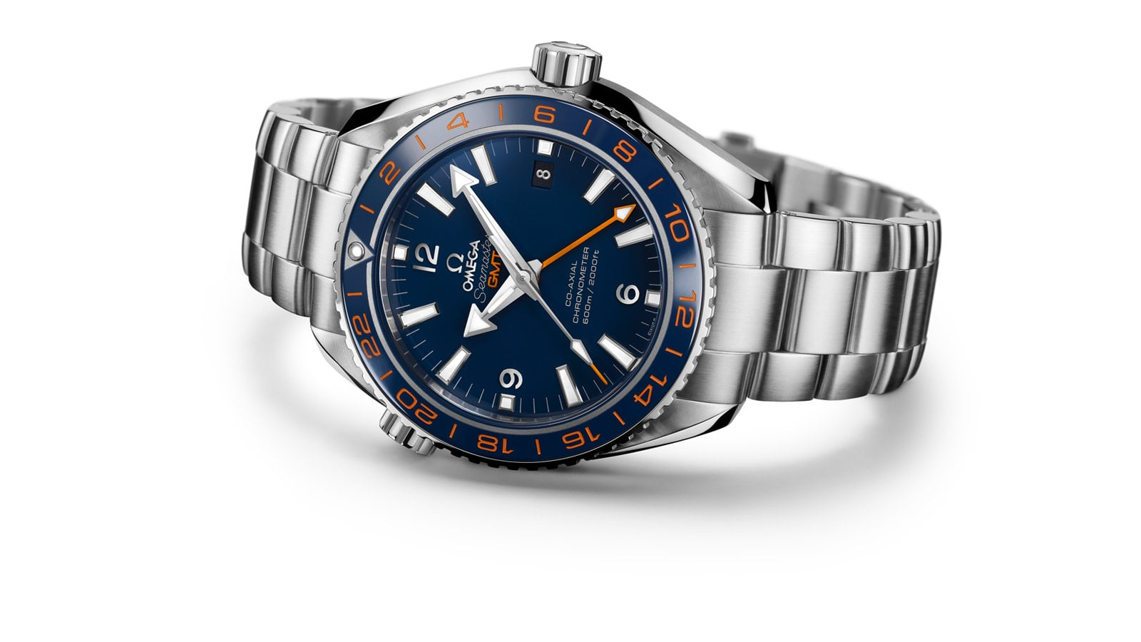 omega Seamaster Planet Ocean 600 M GoodPlanet with dark blue face