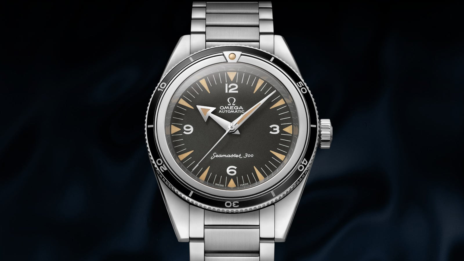 THE SEAMASTER 300 - 60TH ANNIVERSARY LIMITED EDITION 39 MM