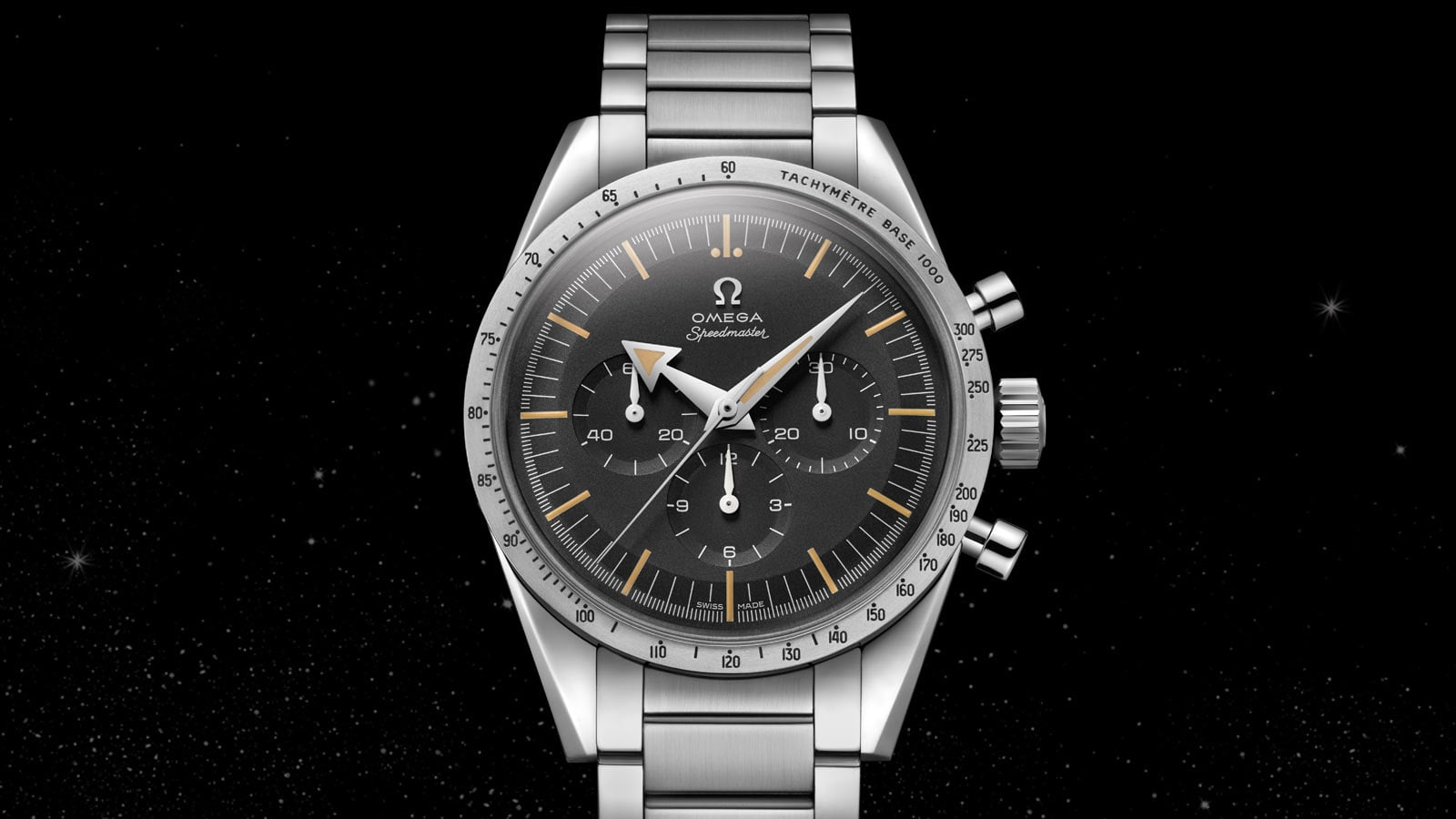 THE SPEEDMASTER 60TH ANNIVERSARY LIMITED EDITION 38.6 MM