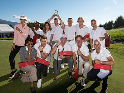 Celebrities at the Celibrity Masters