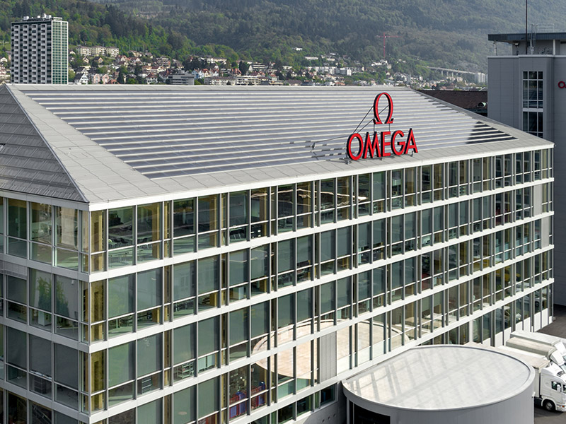 OMEGA's eco-friendly factory image-1