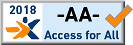 WCAG 2.0 AA Certificate - Access for all