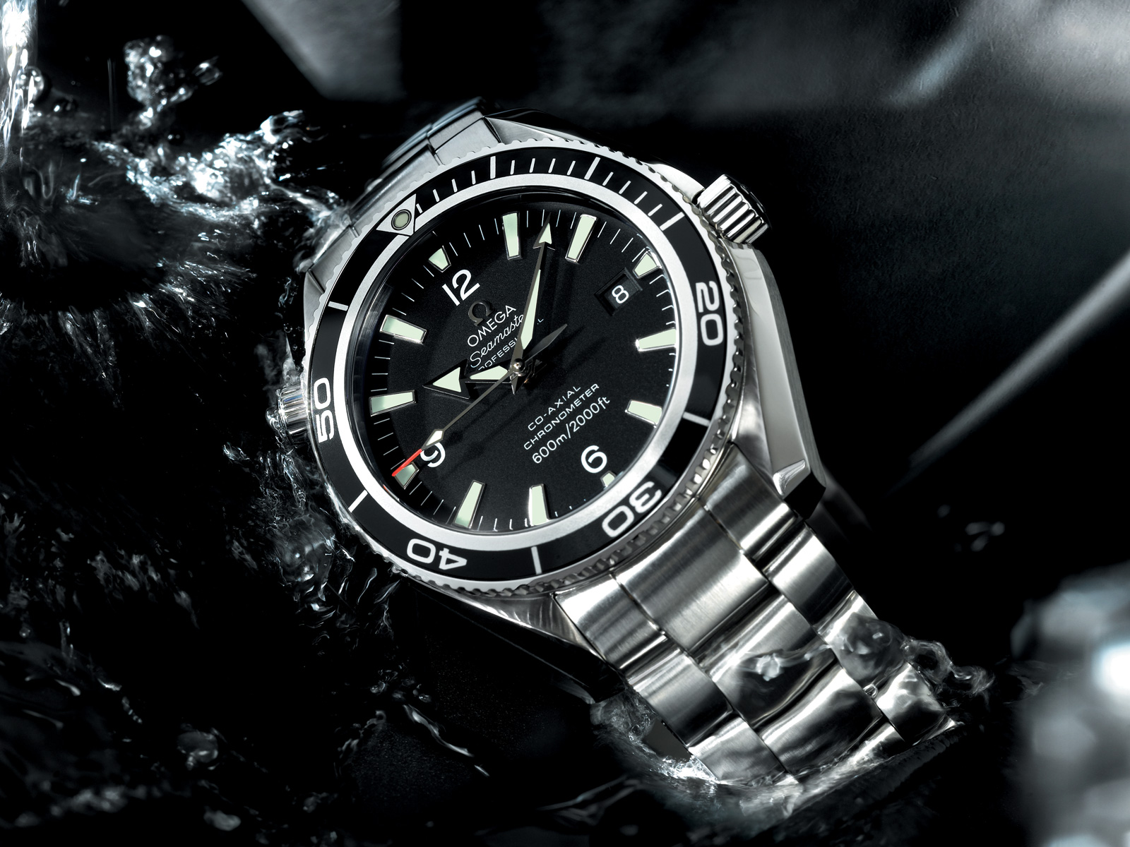 James Bond Quantum Of Solace  Omega Seamaster Watch